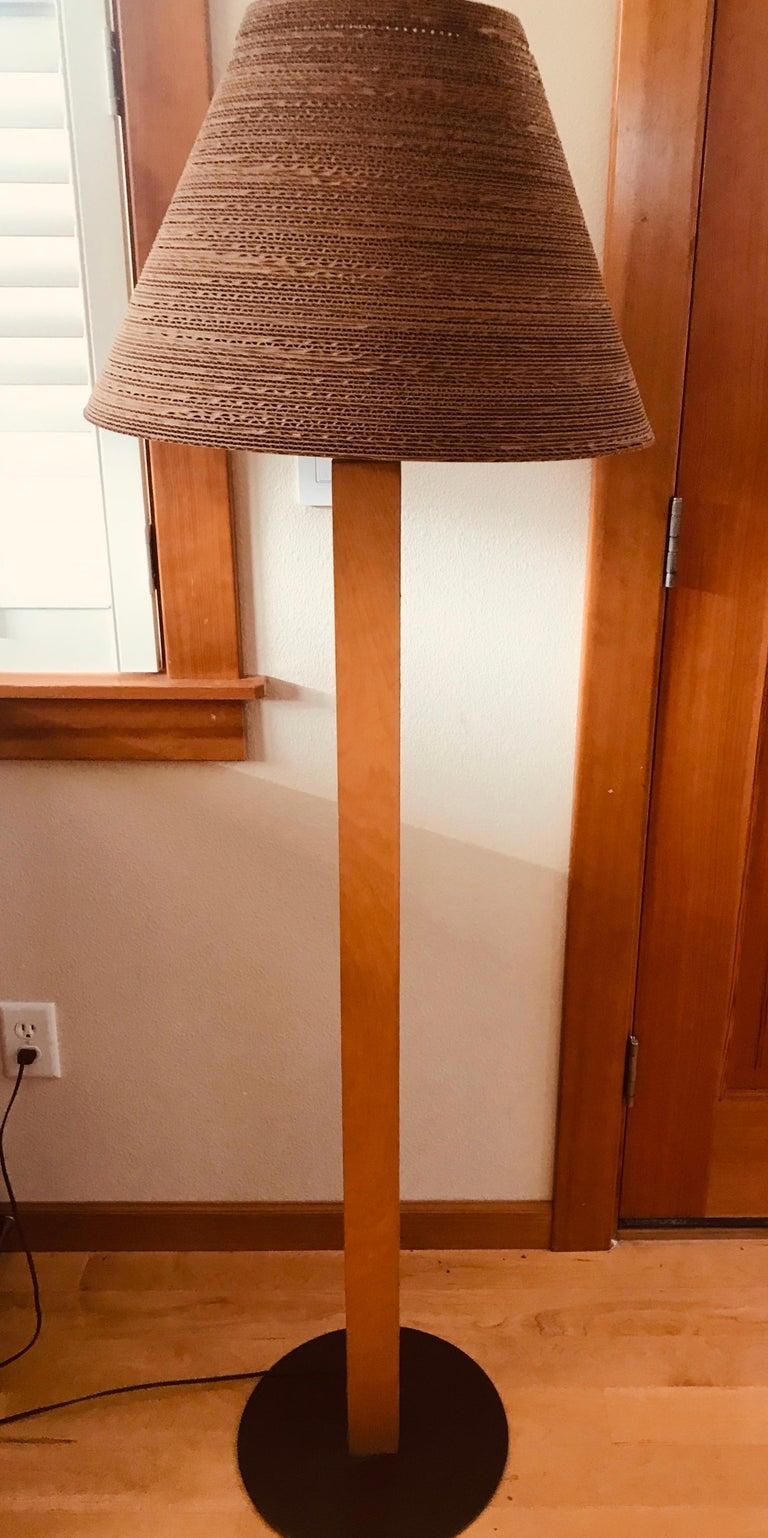 Pair of Gregory Van Pelt Gehry 1970s Floor Lamps For Sale 7