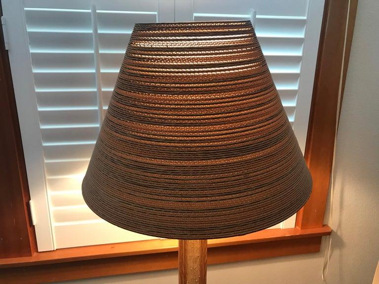 Pair of Gregory Van Pelt Gehry 1970s Floor Lamps For Sale 2