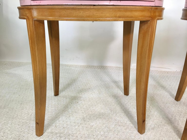 Pair of Grosfeld House Night Tables For Sale 6