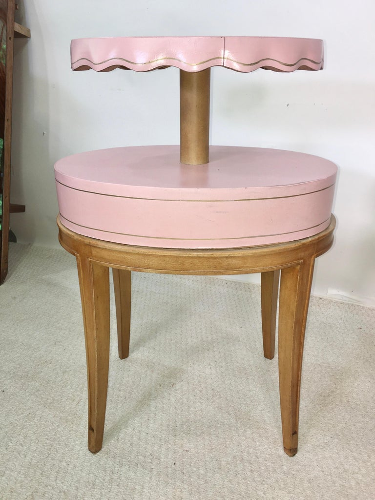 Pair of Grosfeld House Night Tables For Sale 10