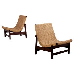 Pair of Guama Lounge Chairs by Gonzalo Cordoba for Dujo, Cuba, 1950s