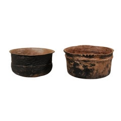 Pair of Guatemalan Clay Cooking Pots from the Early 20th Century