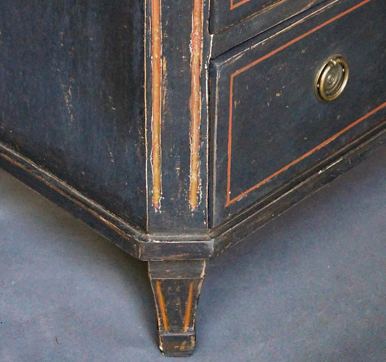 Pair of Gustavian Style Chests of Drawers For Sale 3