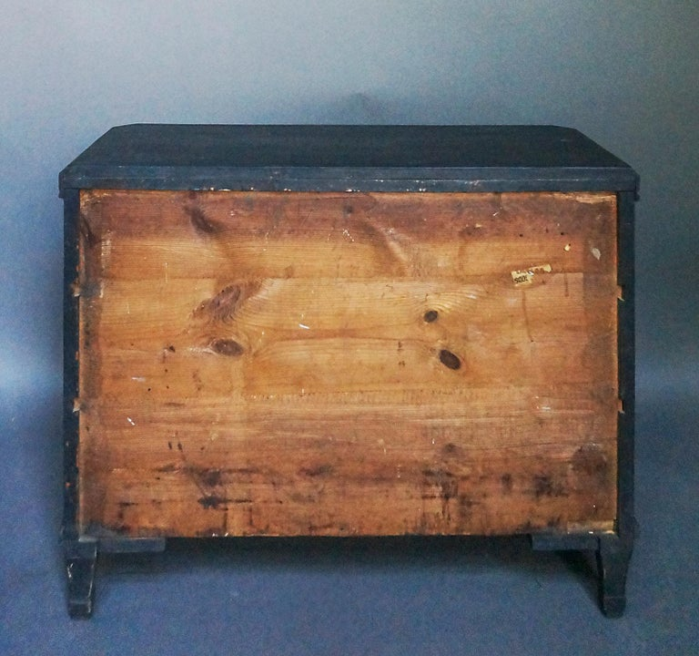Pair of Gustavian Style Chests of Drawers For Sale 4