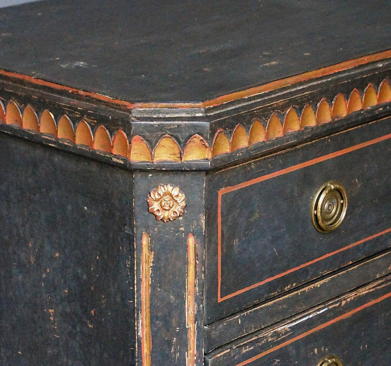 Pair of Gustavian Style Chests of Drawers For Sale 2