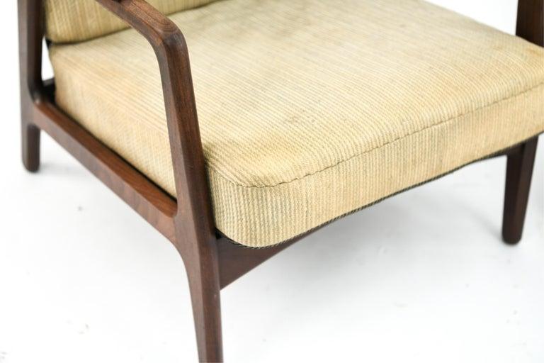 Mid-Century Modern Pair of H. Brockmann-Petersen Danish Lounge Chairs For Sale