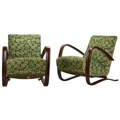 Jindrich Halabala Lounge Chairs
