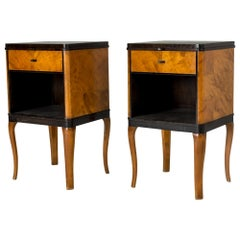 "Pair of ""Haga"" Side Tables by Carl Malmsten"