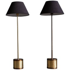Pair of Hans-Agne Jakobsson Floor Lamps Model G-123