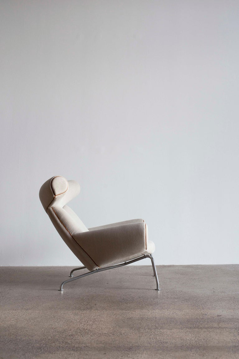 Danish Pair of Hans J. Wegner Ox Chairs, Edition AP Stolen, 1960 For Sale