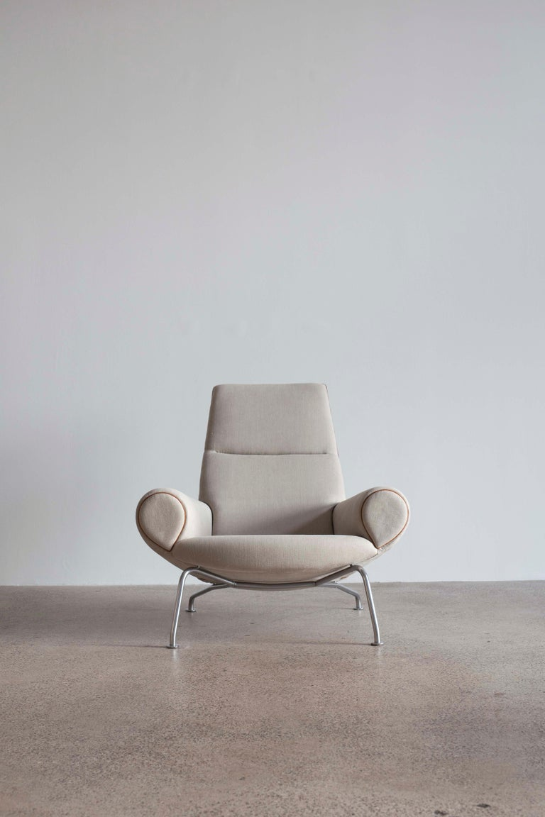 Steel Pair of Hans J. Wegner Ox Chairs, Edition AP Stolen, 1960 For Sale