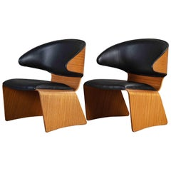 "Pair of Hans Olsen ""Bikini"" Chairs"