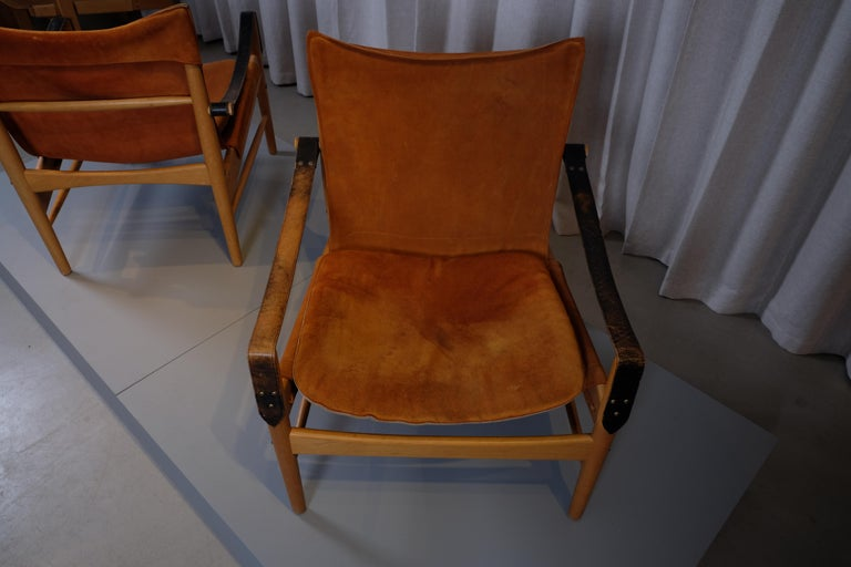 Mid-20th Century Pair of Hans Olsen Easy Chairs, 1960s For Sale