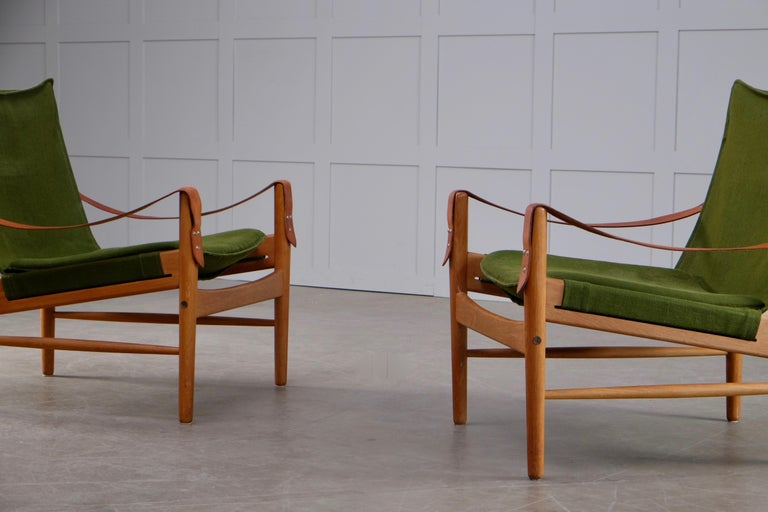 Pair of Hans Olsen Easy Chairs, 1960s For Sale 2
