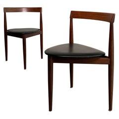 Pair of Hans Olsen for Frem Rojle Dining Chairs