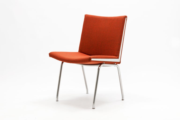 Pair of Hans Wegner AP37  'Airport' Chairs by A.P. Stolen For Sale 3