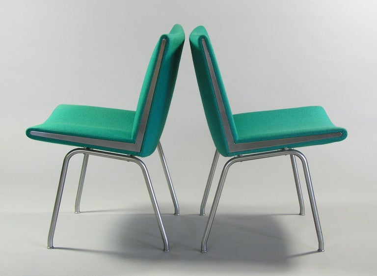 Pair of Hans Wegner AP37  'Airport' Chairs by A.P. Stolen For Sale 9