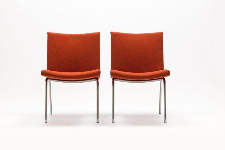 Scandinavian Modern Pair of Hans Wegner AP37  'Airport' Chairs by A.P. Stolen For Sale