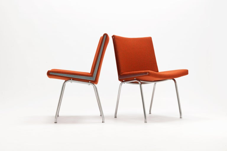 Danish Pair of Hans Wegner AP37  'Airport' Chairs by A.P. Stolen For Sale