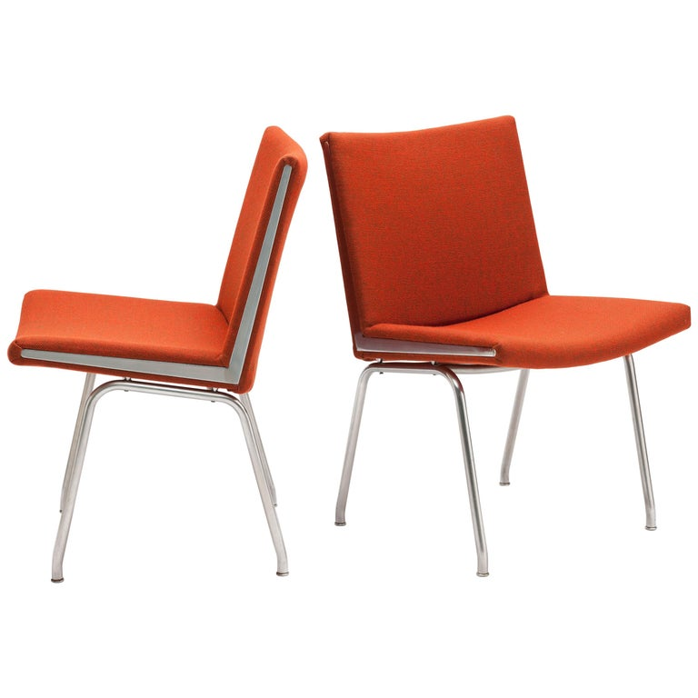 Pair of Hans Wegner AP37  'Airport' Chairs by A.P. Stolen For Sale