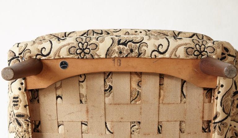 Danish Hans Wegner Papa Bear Chairs, AP Stolen, Denmark, 1950s for Re-Upholstery, Pair For Sale