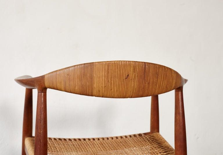 Pair of Hans Wegner the Chair, Model JH501, Johannes Hansen, 1950s-1960s For Sale 3