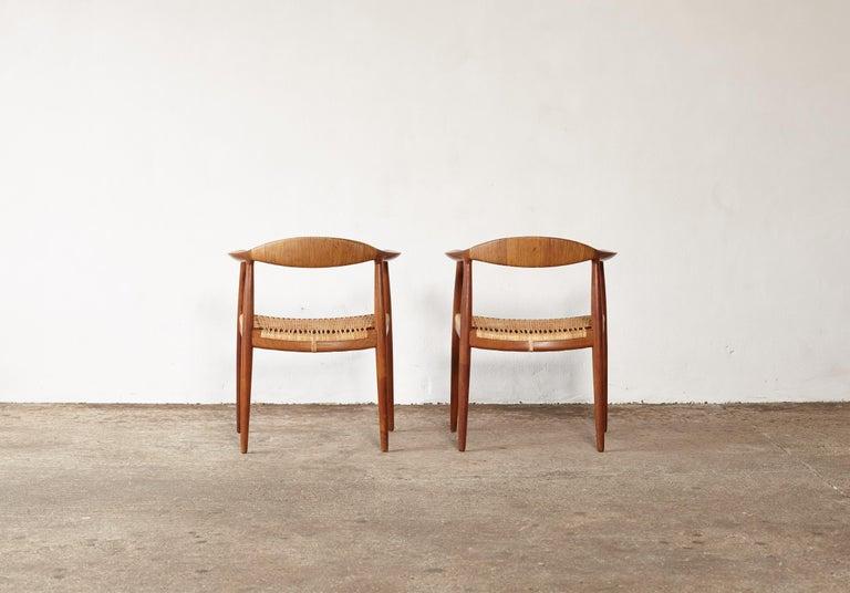 Danish Pair of Hans Wegner the Chair, Model JH501, Johannes Hansen, 1950s-1960s For Sale