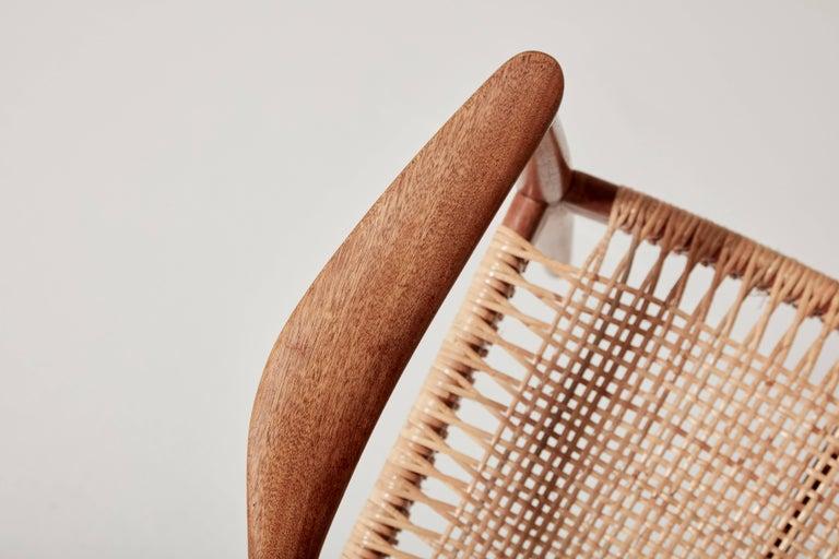Cane Pair of Hans Wegner the Chair, Model JH501, Johannes Hansen, 1950s-1960s For Sale