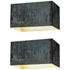 Pair of Hansson & Co. Swedish Copper Outdoor Wall Light