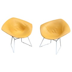 Pair of Harry Bertoia for Knoll Diamond Chairs
