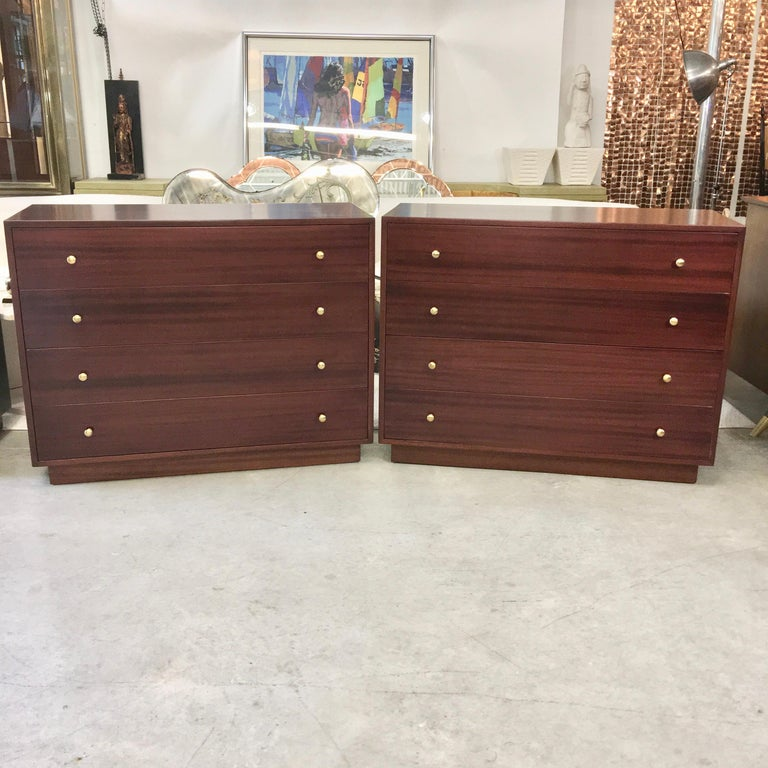 Pair of Harvey Probber Chests of Drawers For Sale 11