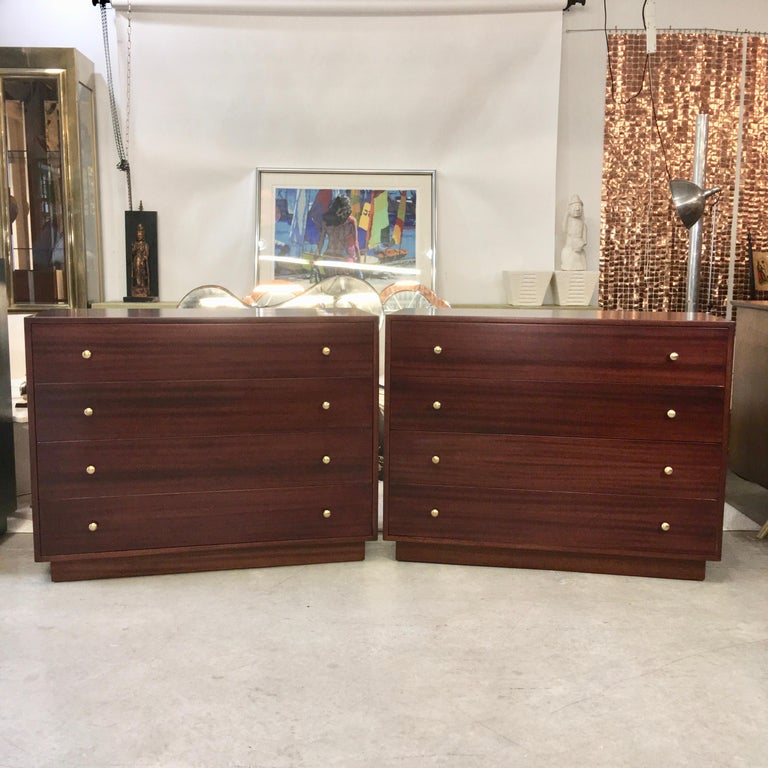 Pair of Harvey Probber Chests of Drawers For Sale 1