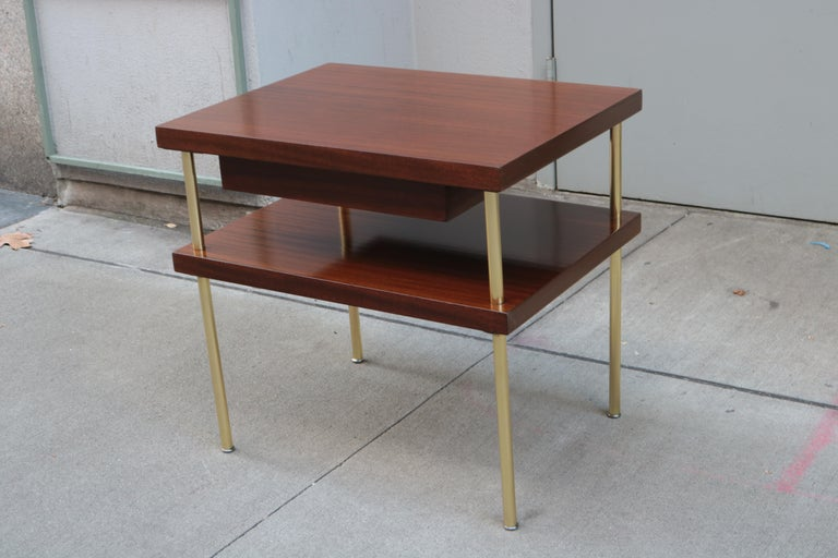 Modern Pair of Harvey Probber End Tables For Sale