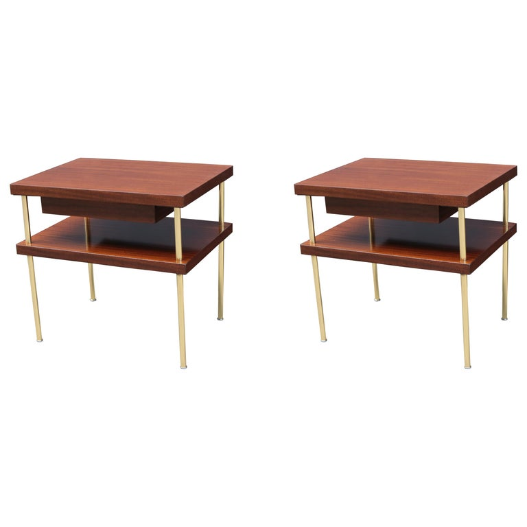 Pair of Harvey Probber End Tables For Sale