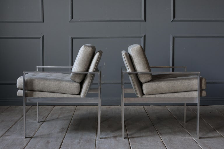 Pair of Harvey Probber Lounge Chairs For Sale 4
