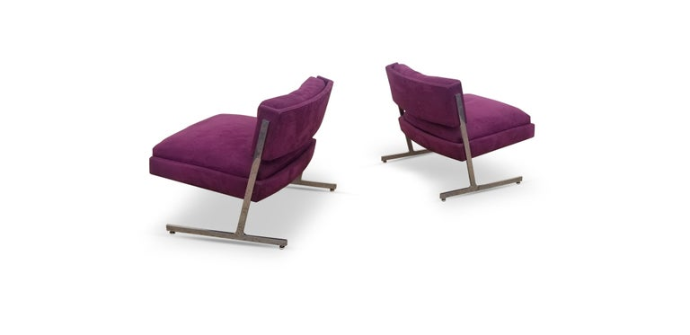 20th Century Pair of Harvey Probber Lounge Chairs For Sale