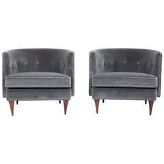 Pair of Harvey Probber Lounges