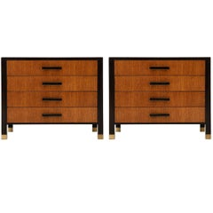 Pair of Harvey Probber Nightstands or Ends Cabinets