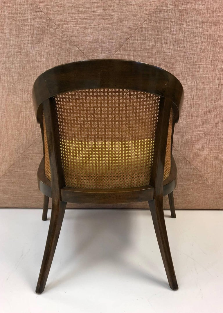 Mid-Century Modern Pair of Harvey Probber Side Chairs For Sale