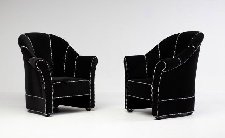 Beech Pair of Haus Koller Armchairs by Josef Hoffmann for Wittmann For Sale