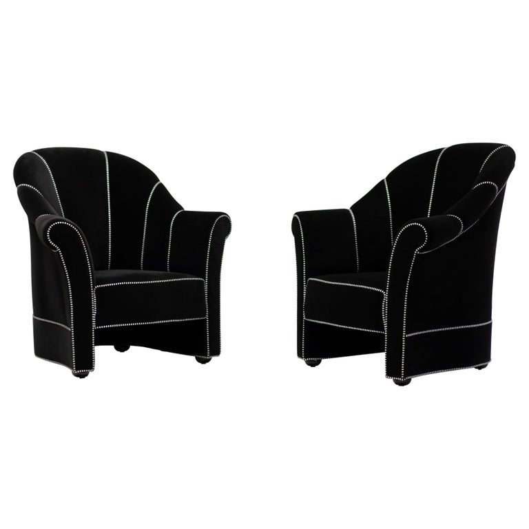 Pair of Haus Koller Armchairs by Josef Hoffmann for Wittmann For Sale