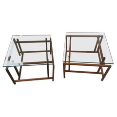 Pair of Henning Norgaard 1960s Danish Modern Side Tables for Komfort
