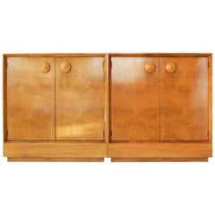 Pair of Herman Miller Paldao Dresser-Cabinets by Gilbert Rohde