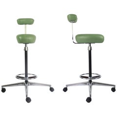Pair of Herman Miller Perchs Designed by George Nelson