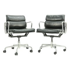 Pair of Herman Miller Soft Pad Office Chairs