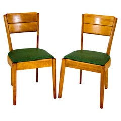 Pair of Heywood Wakefield Dining Chairs, C3700