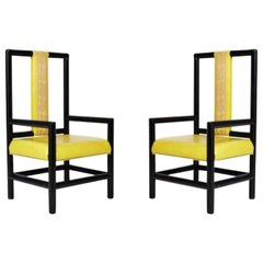 Pair of High Back Armchair by Kelly Wearstler for the Viceroy Hotel
