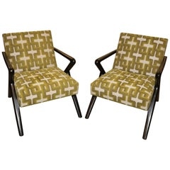 Pair of Holly Hunt Capri Chairs