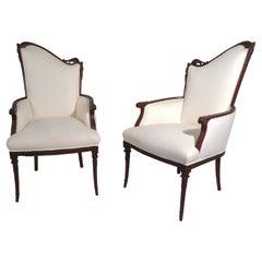 Pair of Hollywood Regency Armchairs by Grosfeld House