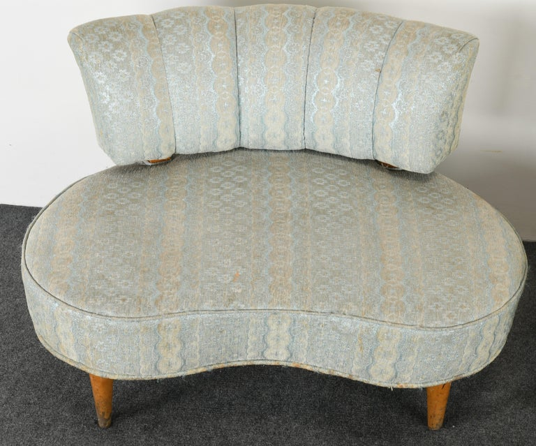 Pair of Hollywood Regency Chairs, 1940s For Sale 2